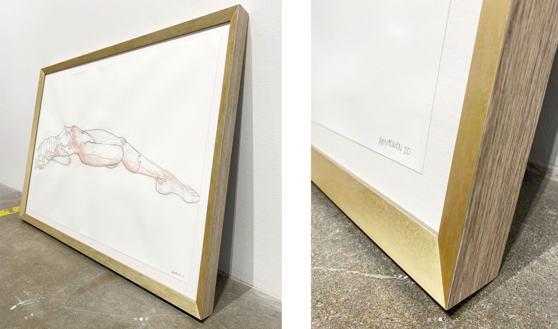 Online custom frames from Level