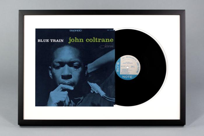 John Coltrane - Blue Train - Framed Vinyl Record