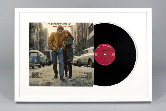 The Freewheelin' Bob Dylan - Bob Dylan - Framed Vinyl Record