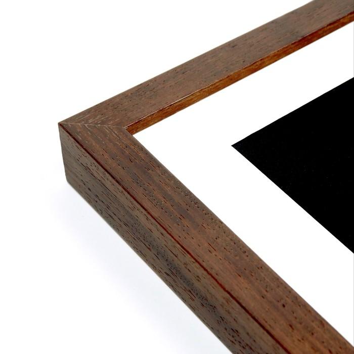 Kota Walnut - Custom picture frame profile