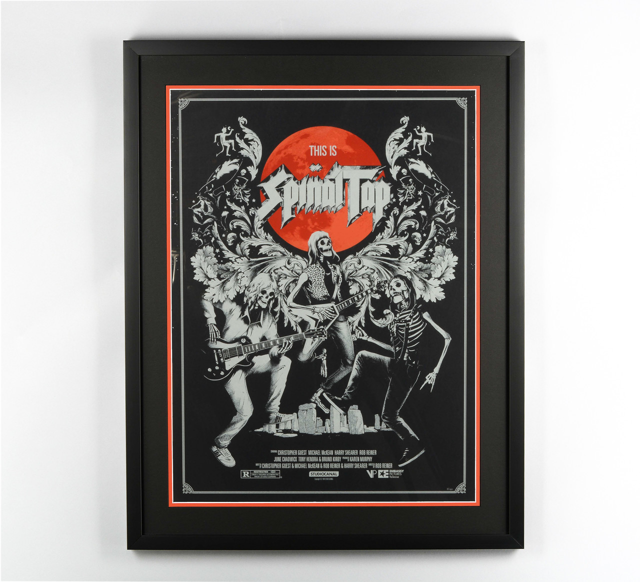 Spinal Tap Custom Framed Collectible