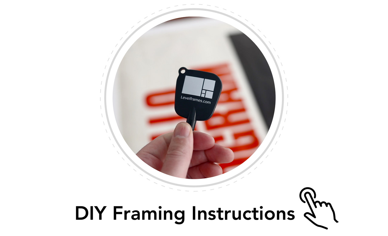 Step by Step DIY Framing with Level Frames