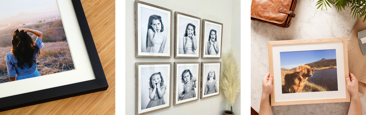 Frame a Photo with Level Frames