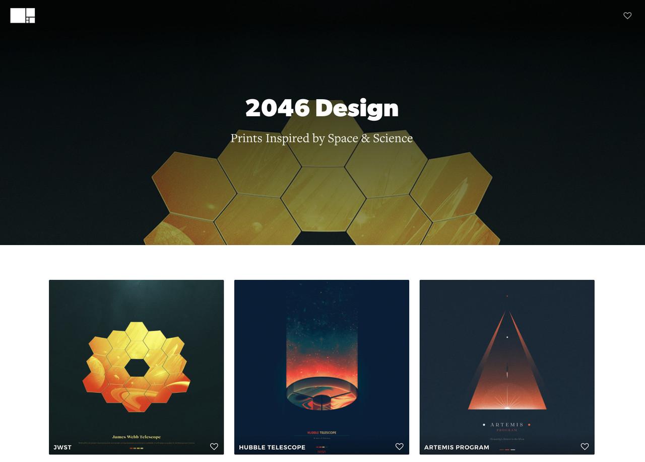 Online Portfolio Site for Creatives