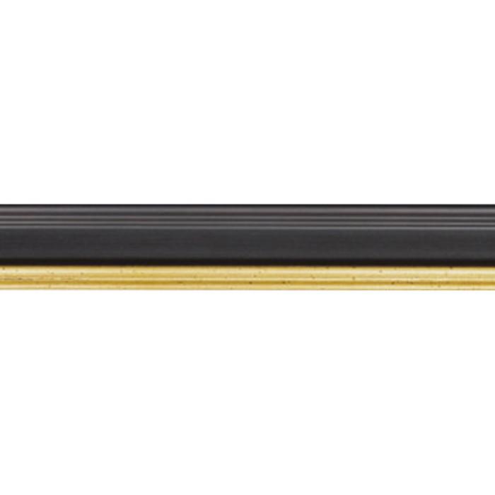 Academie Black | custom frame profile sample