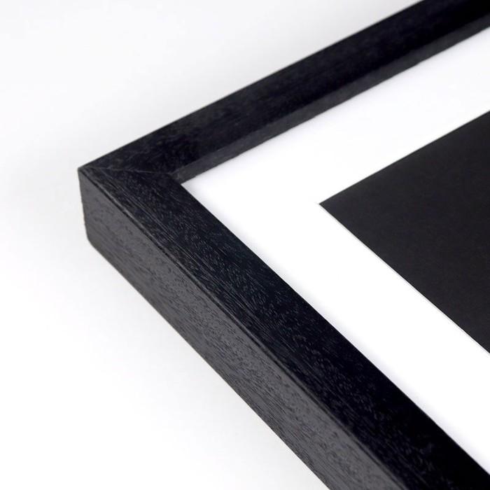 Kota Black - Custom picture frame profile