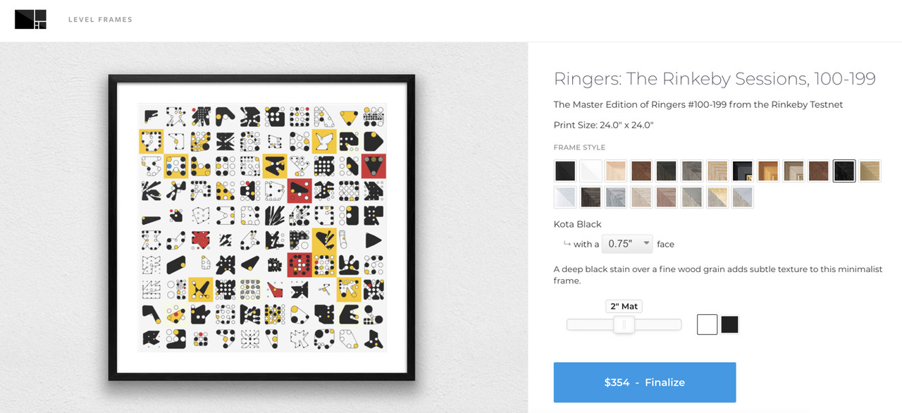 Dmitri Cherniak Ringers - Custom Framed Prints on Dot Press